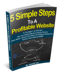 5 Simple Steps To A Profitable Website